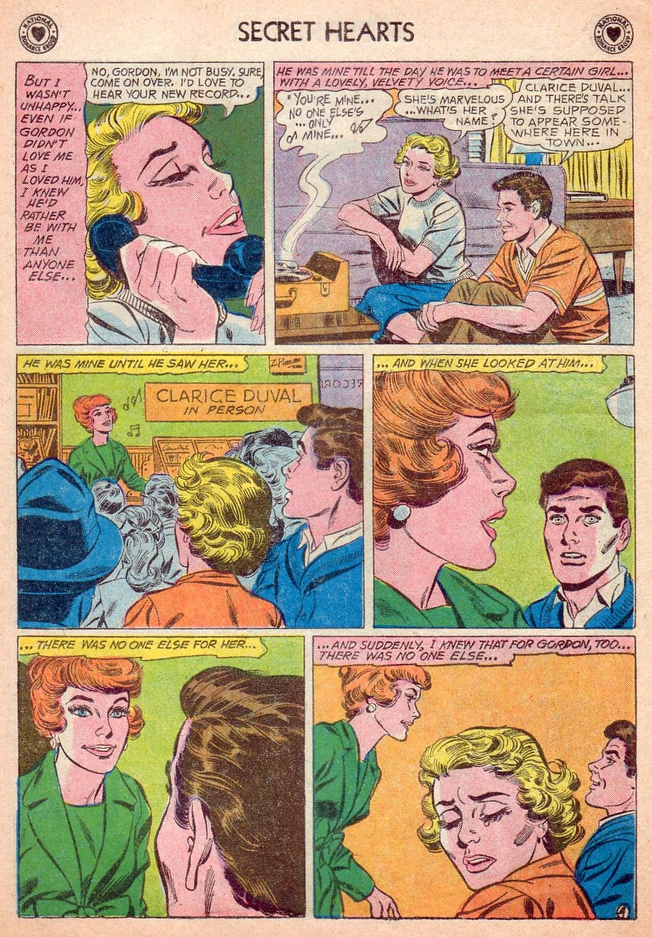 Read online Secret Hearts comic -  Issue #63 - 6