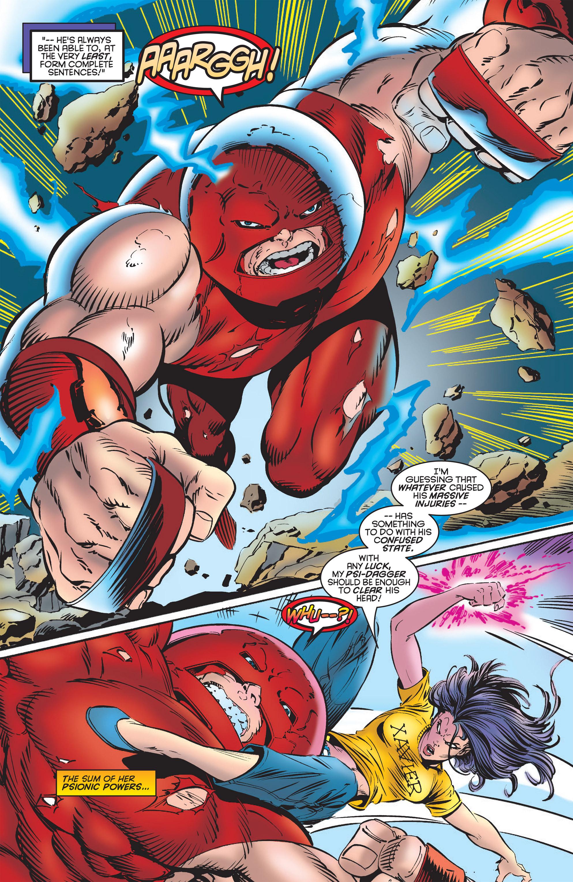 Read online Uncanny X-Men (1963) comic -  Issue #322 - 16