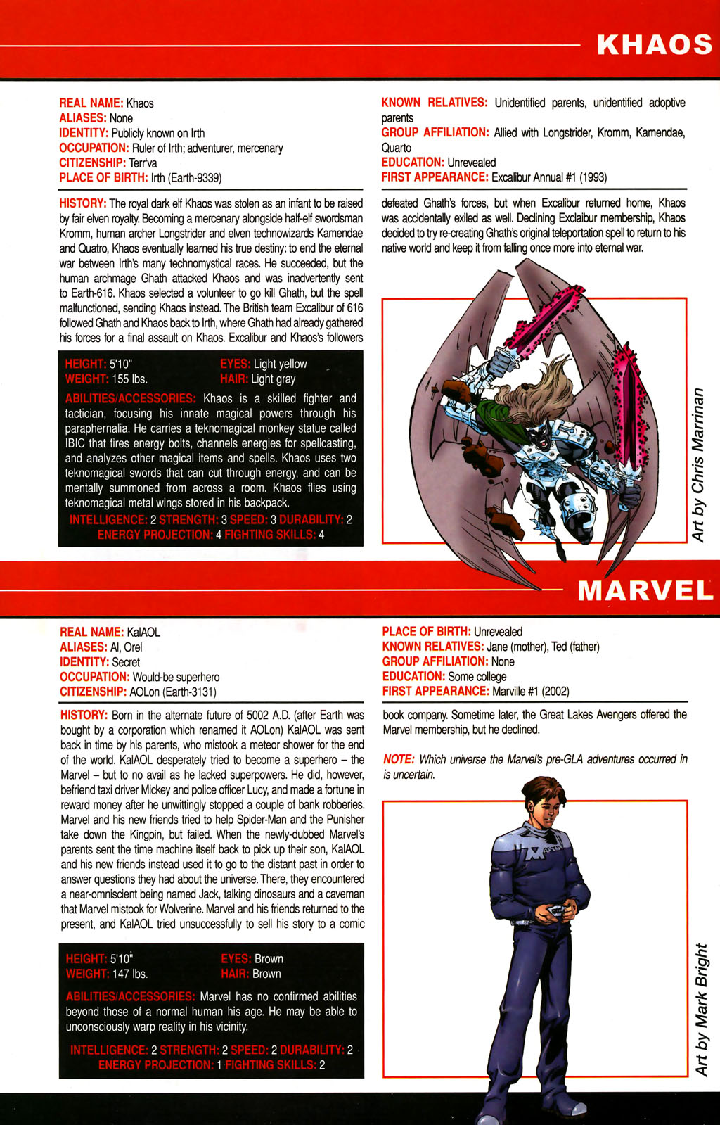 Read online All-New Official Handbook of the Marvel Universe A to Z comic -  Issue #6 - 66