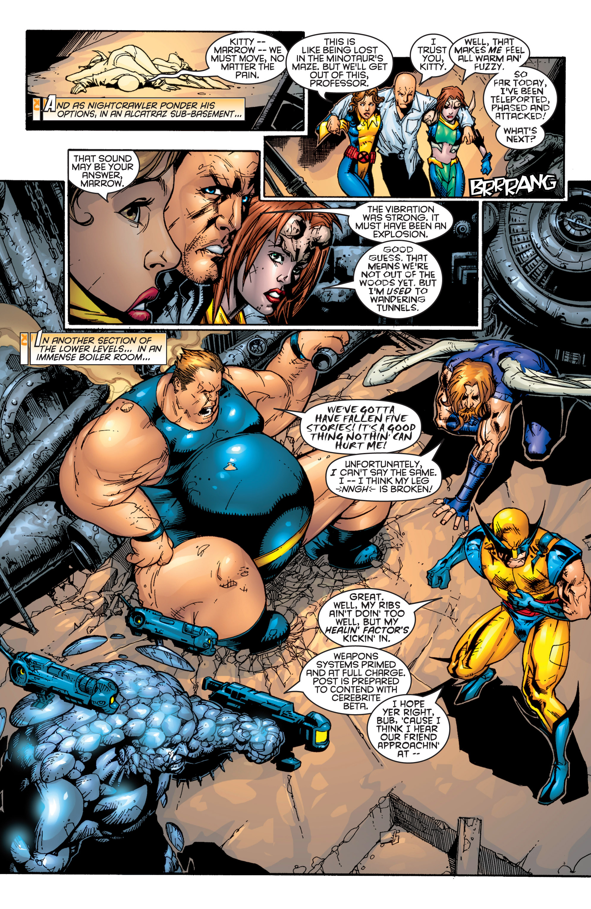 Read online Uncanny X-Men (1963) comic -  Issue #364 - 15