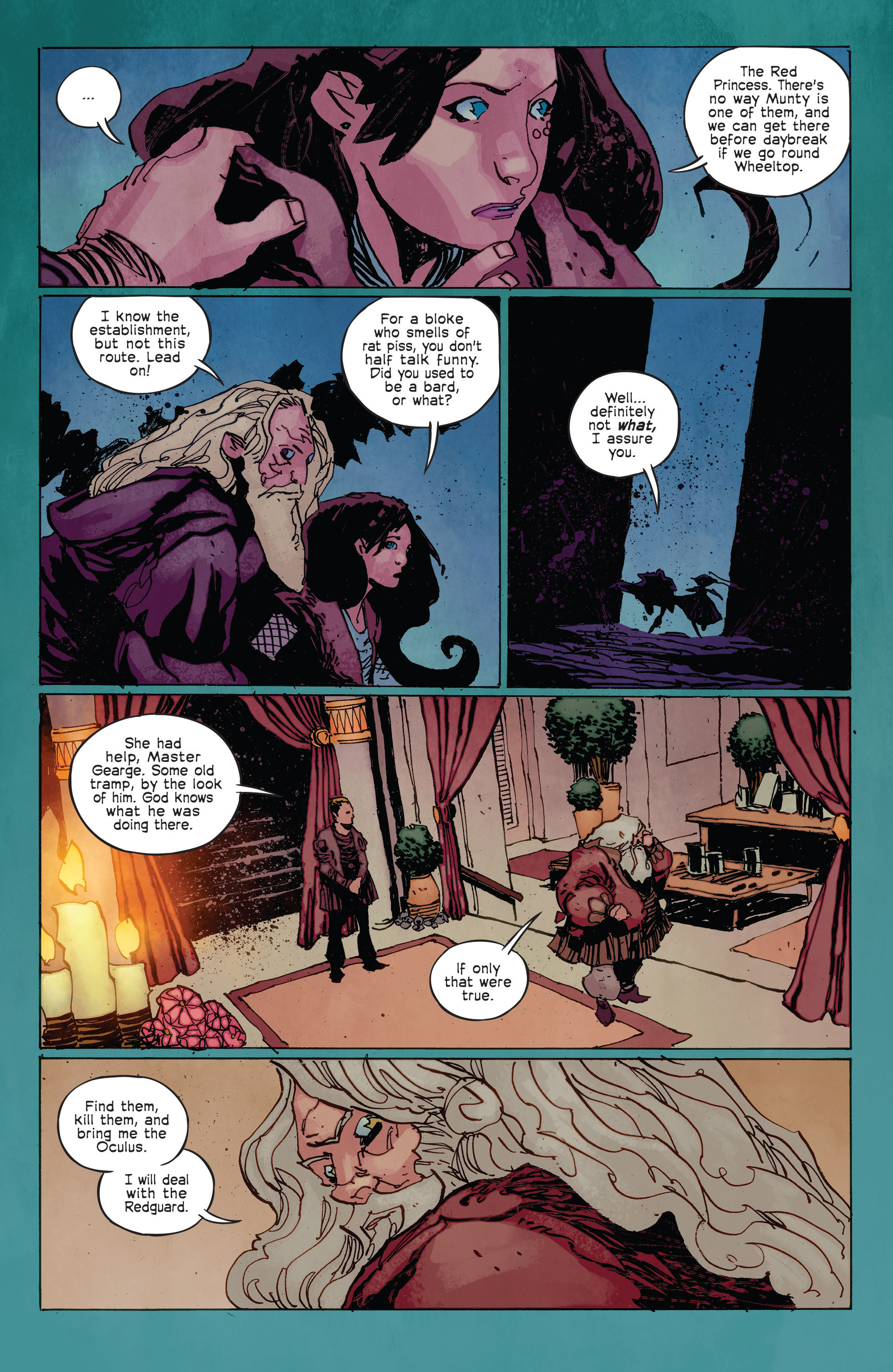 Read online Umbral comic -  Issue #2 - 12
