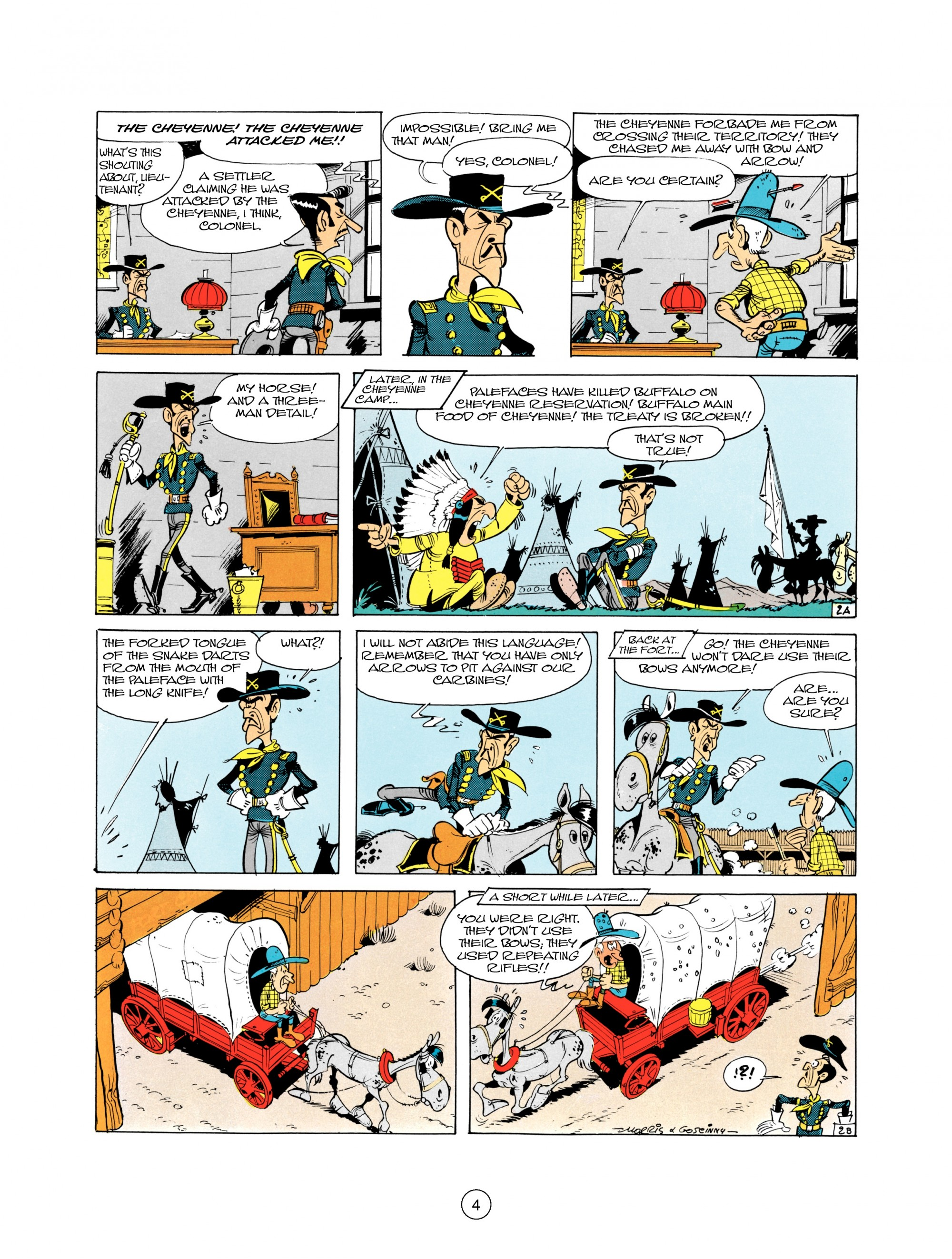 Read online A Lucky Luke Adventure comic -  Issue #21 - 4