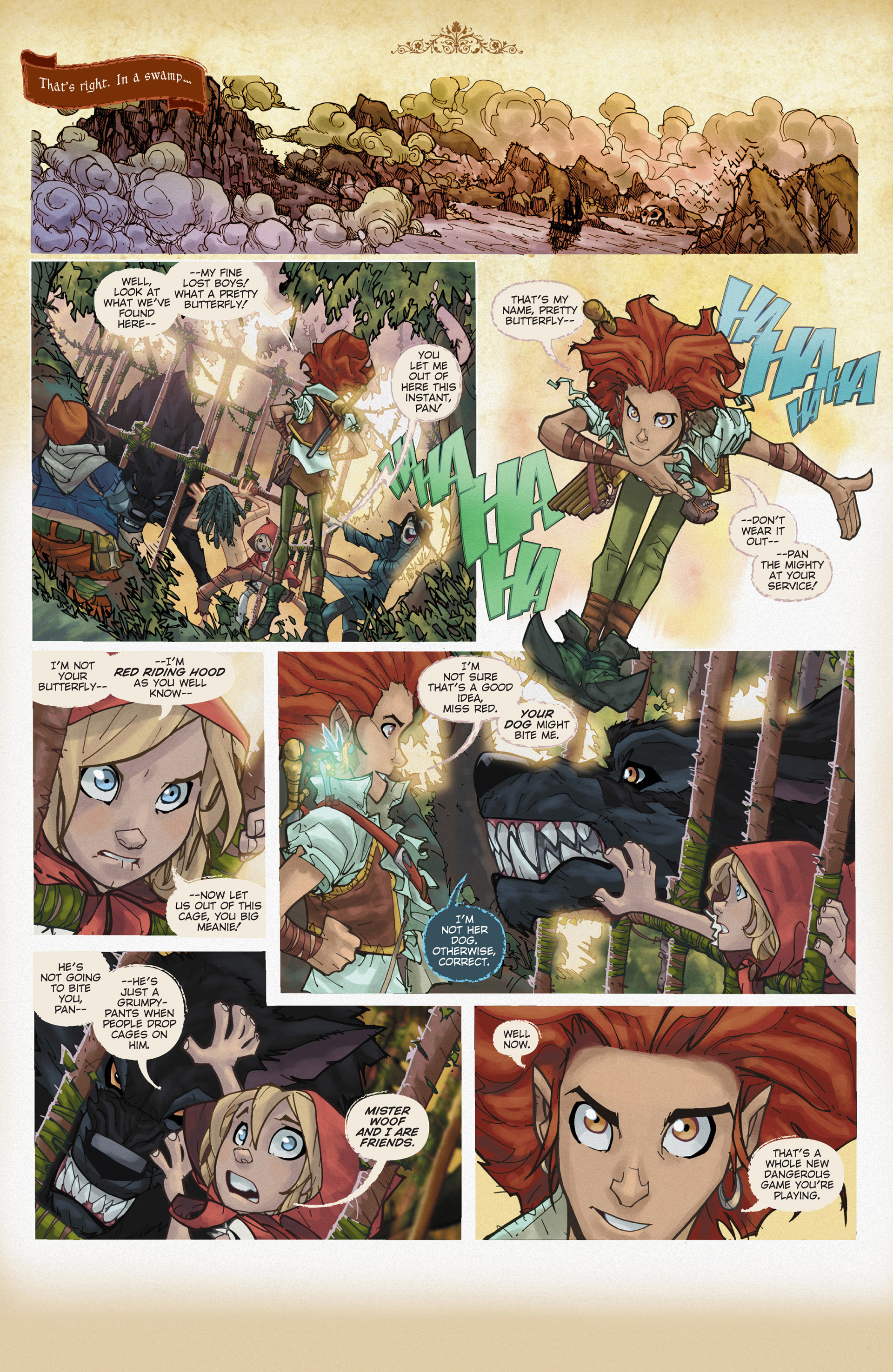 Read online Fairy Quest: Outlaws comic -  Issue #2 - 4