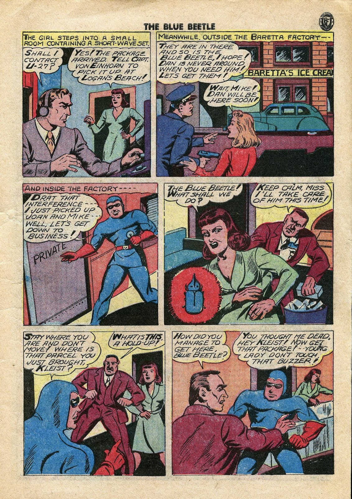 The Blue Beetle issue 34 - Page 6