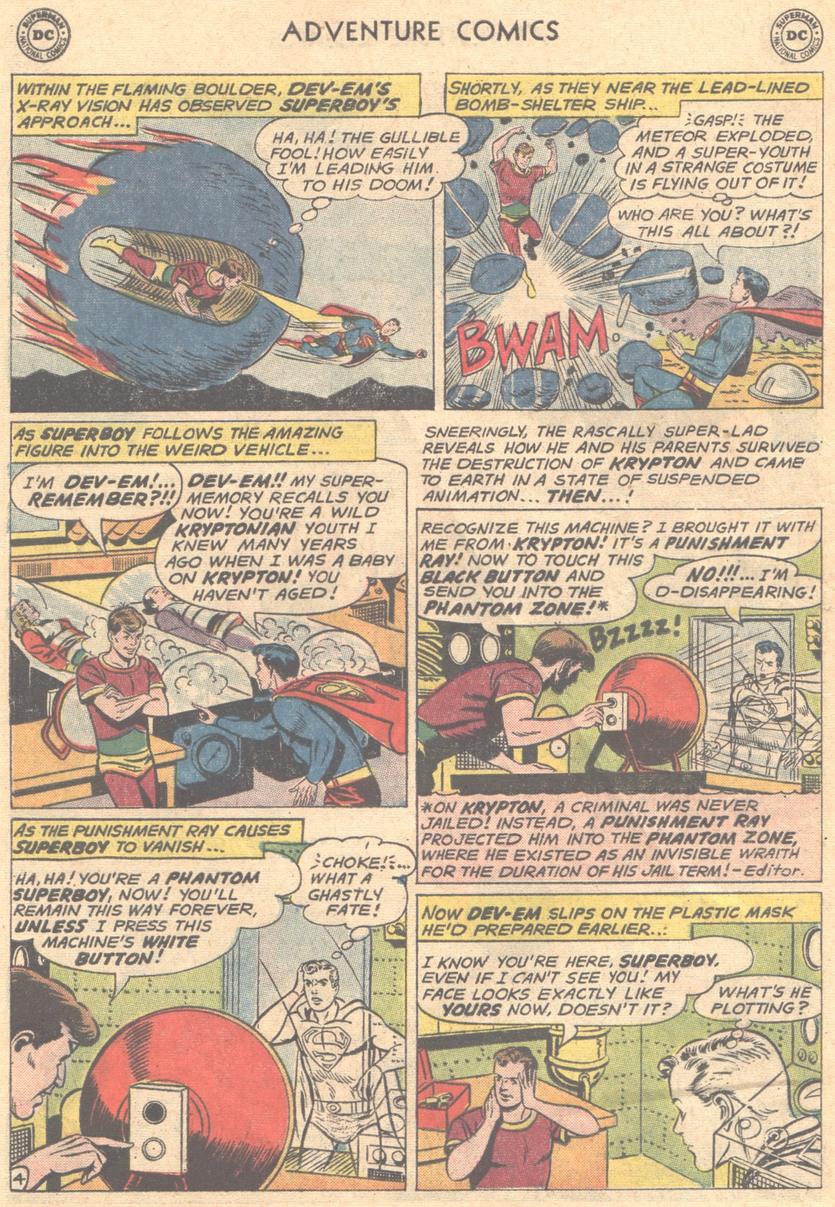Read online Adventure Comics (1938) comic -  Issue #288 - 6