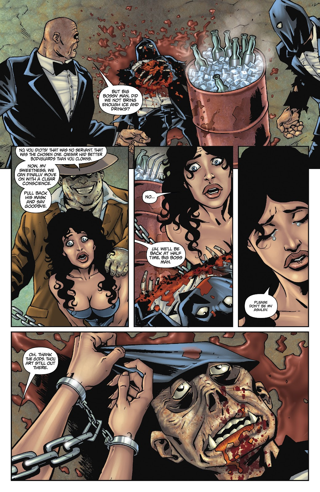 Army of Darkness: The Long Road Home issue TPB - Page 89