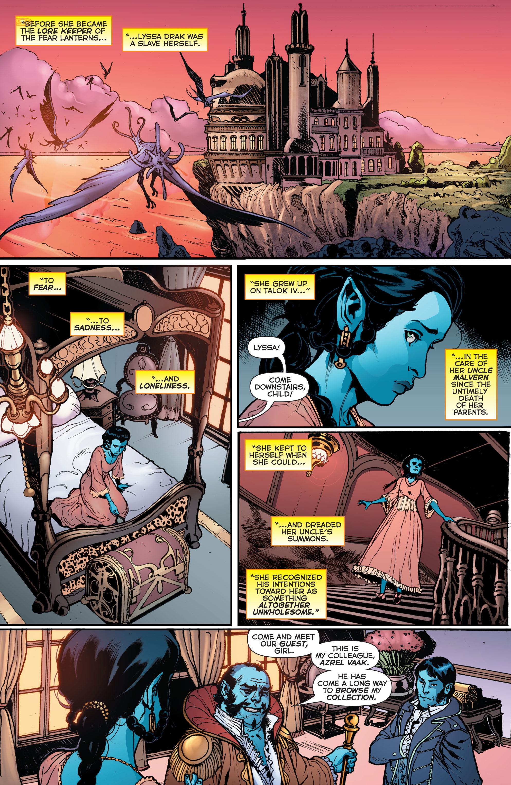 Read online Sinestro comic -  Issue # Annual 1 - 14