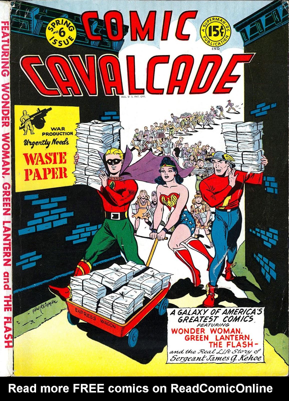 Comic Cavalcade issue 6 - Page 1