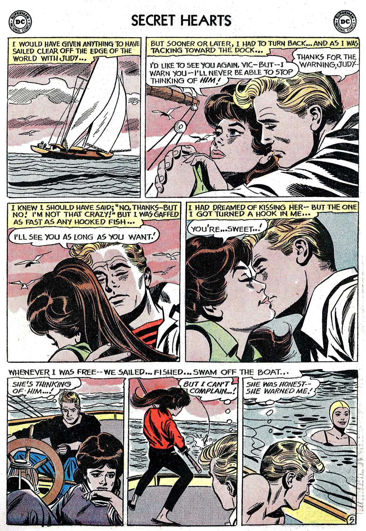 Read online Secret Hearts comic -  Issue #82 - 7