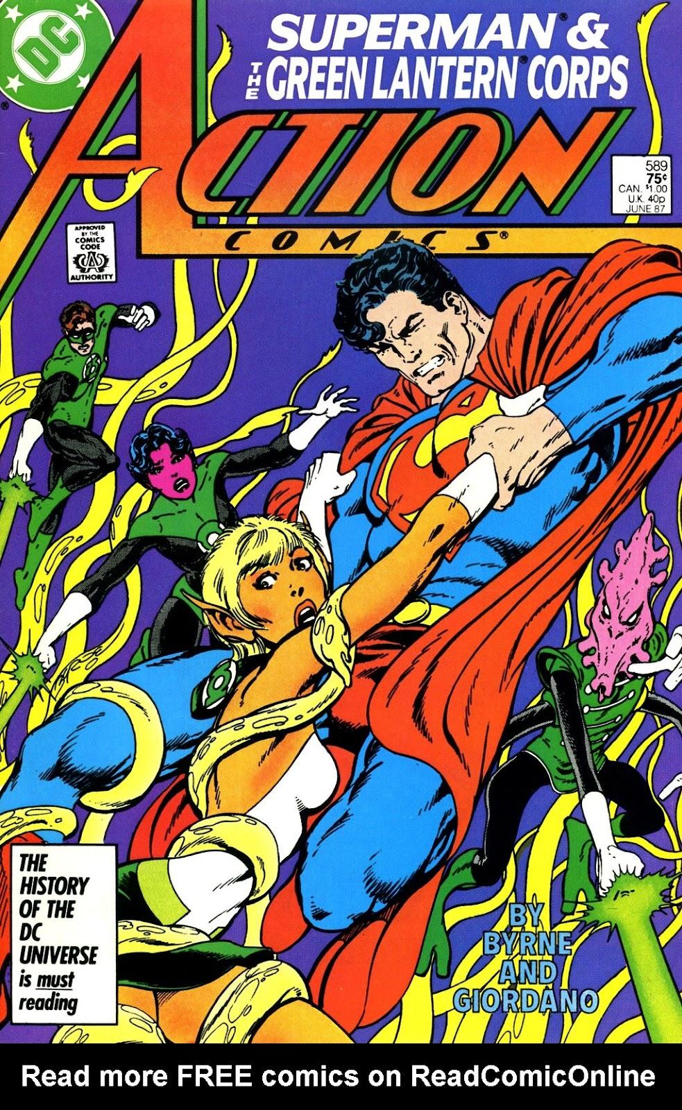 Action Comics (1938) 589 Page 1