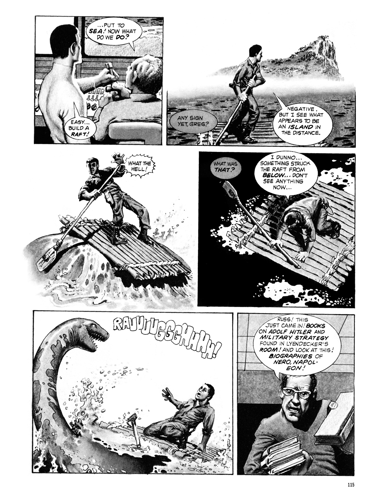 Read online Eerie Archives comic -  Issue # TPB 18 - 116
