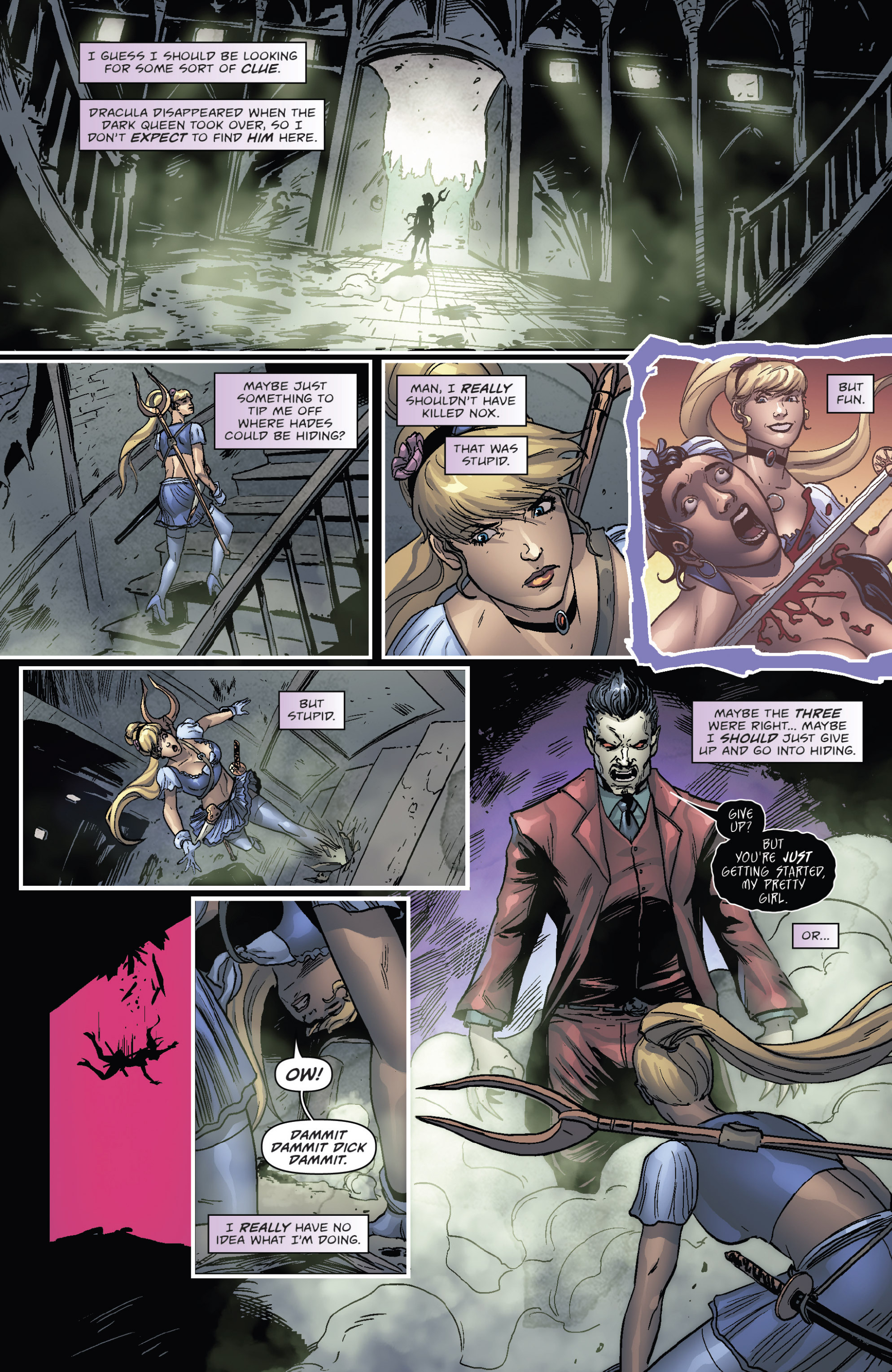 Read online Grimm Fairy Tales presents Cinderella: Age of Darkness comic -  Issue #2 - 5