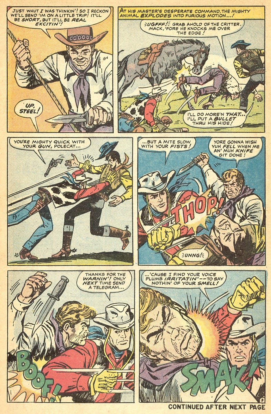 Kid Colt Outlaw issue 140 - Page 5
