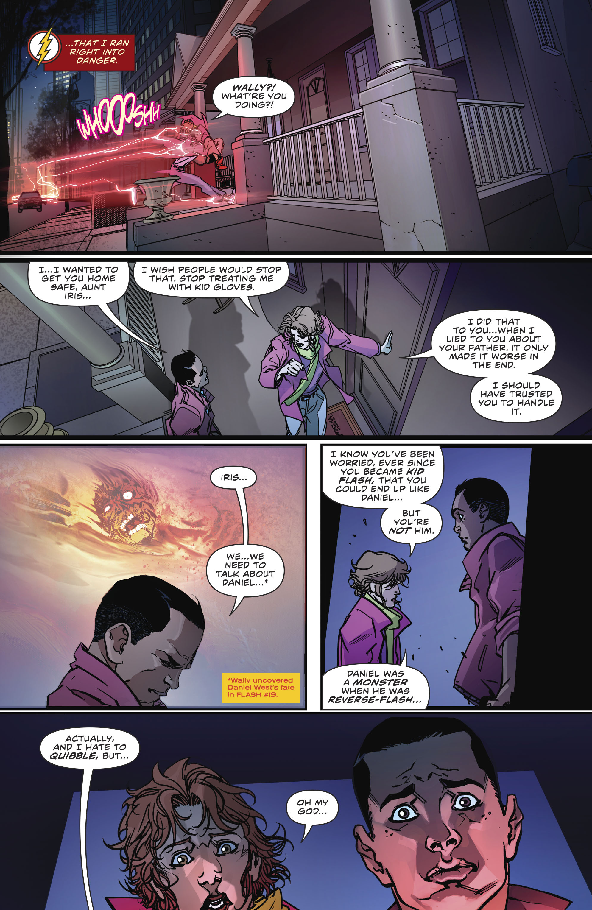 Read online The Flash (2016) comic -  Issue #23 - 22
