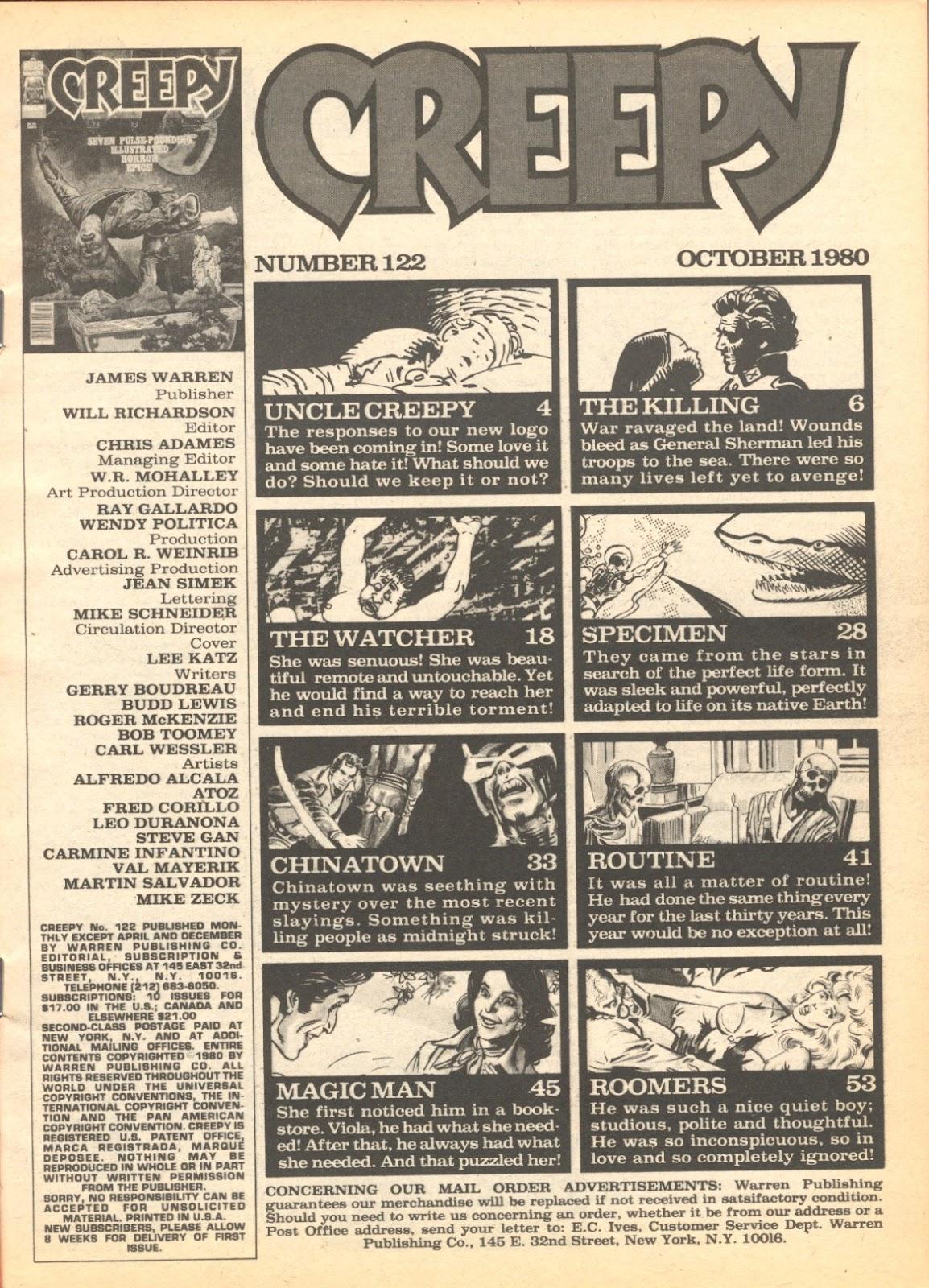 Creepy (1964) Issue #122 #122 - English 3