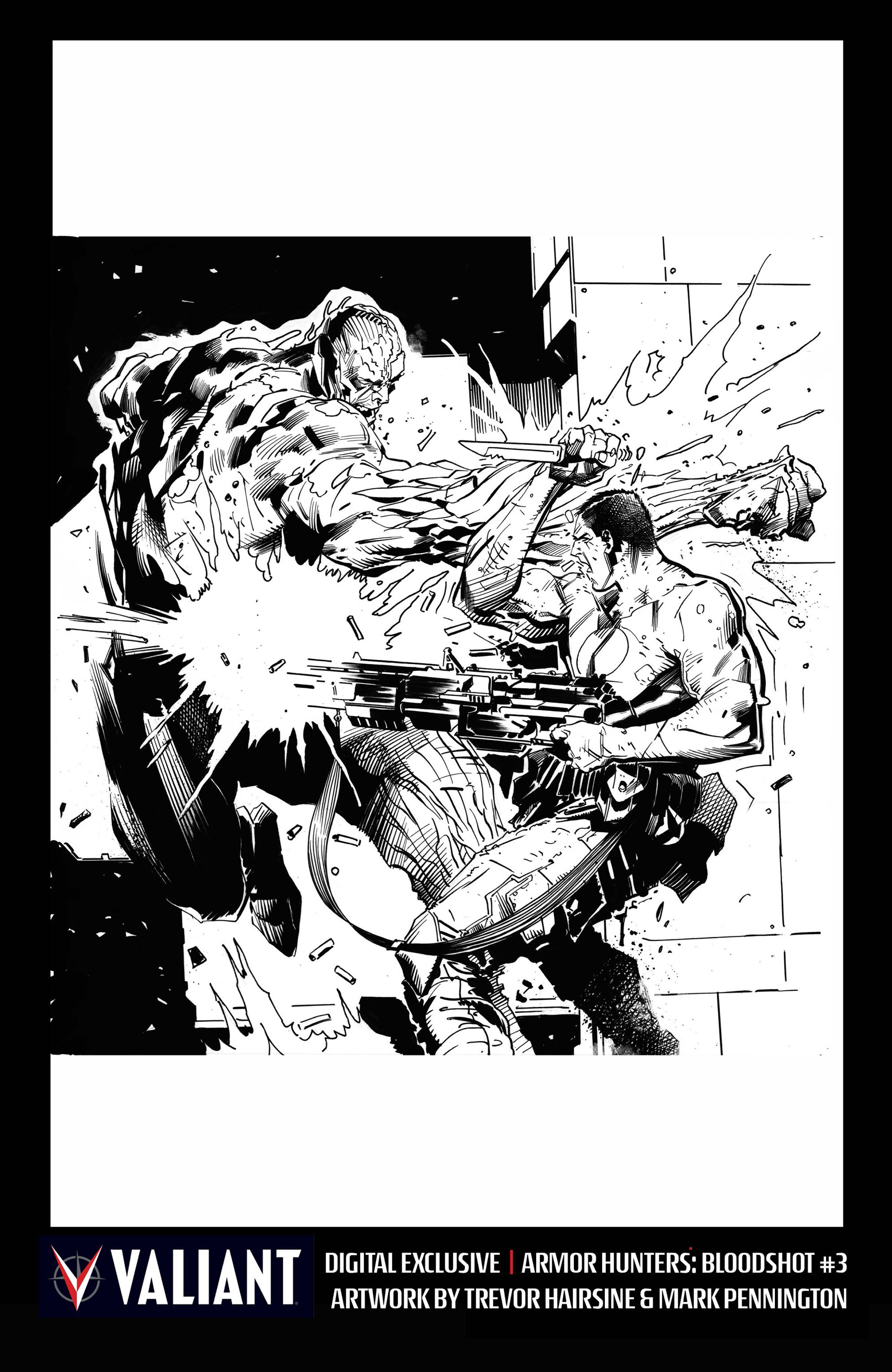 Read online Armor Hunters: Bloodshot comic -  Issue #3 - 31
