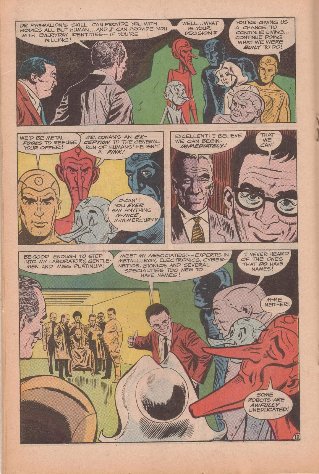 Metal Men (1963) issue 37 - Page 18