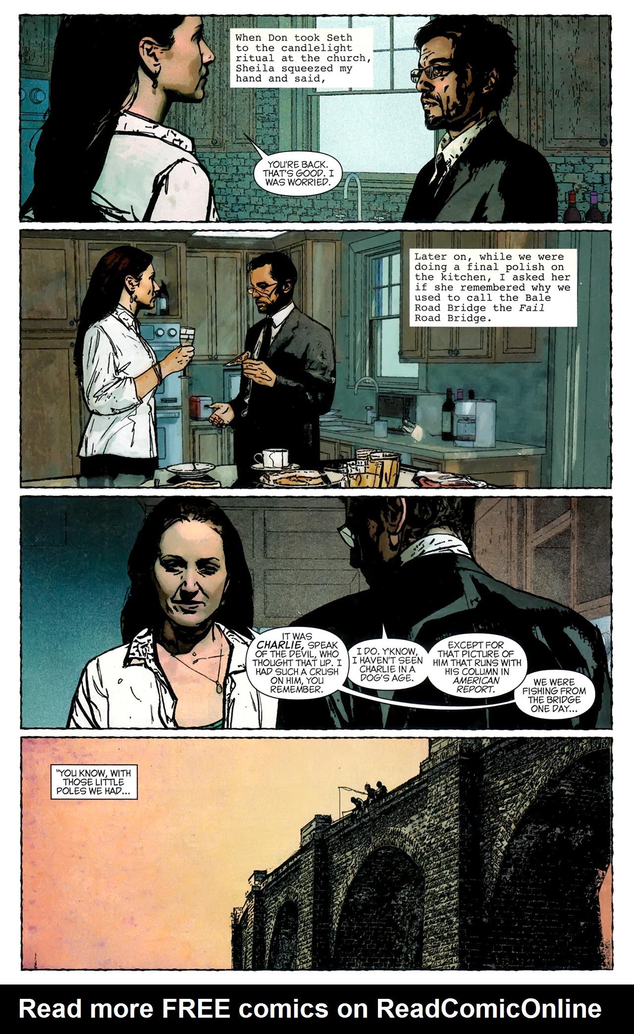 Read online Stephen King's N. comic -  Issue #3 - 17