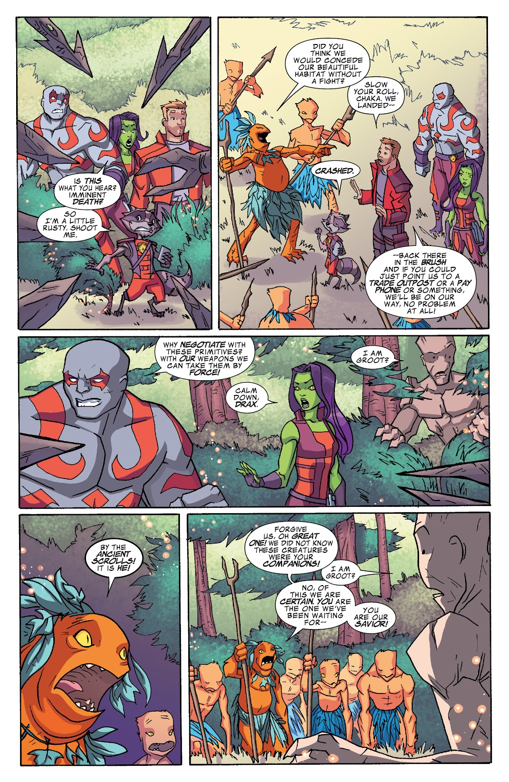 Read online Marvel Universe Guardians of the Galaxy [I] comic -  Issue #4 - 4