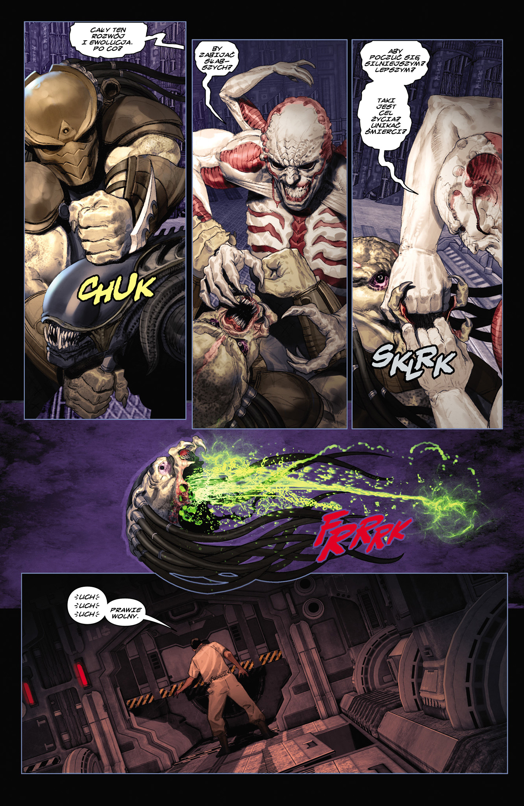 Read online Alien vs. Predator: Fire and Stone comic -  Issue #2 - 9