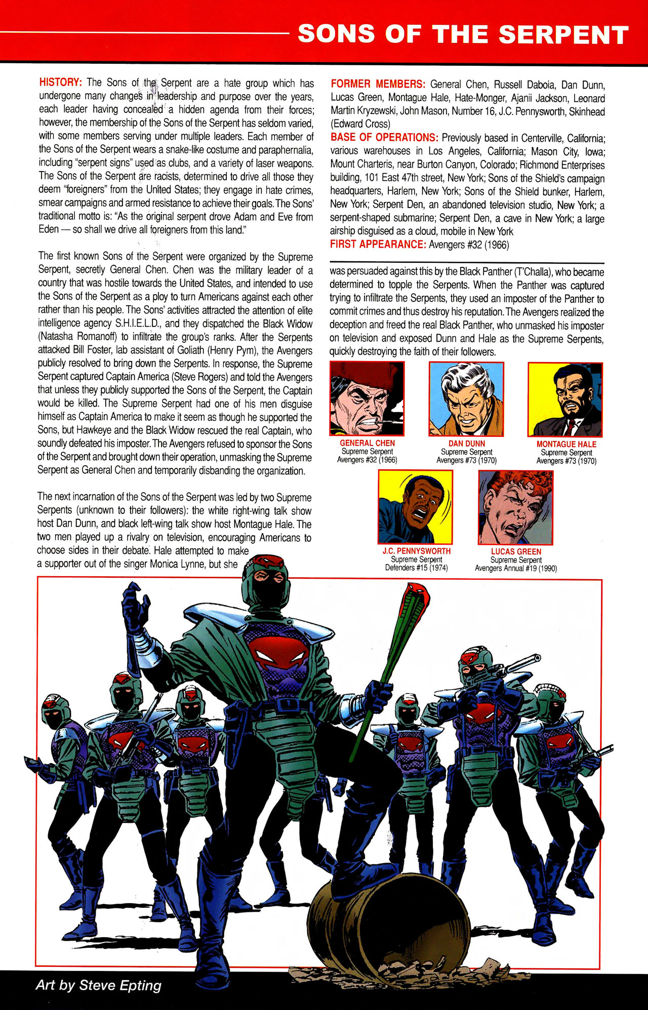 Read online All-New Official Handbook of the Marvel Universe A to Z comic -  Issue #10 - 29