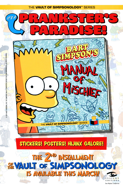 Read online Simpsons Comics comic -  Issue #210 - 32