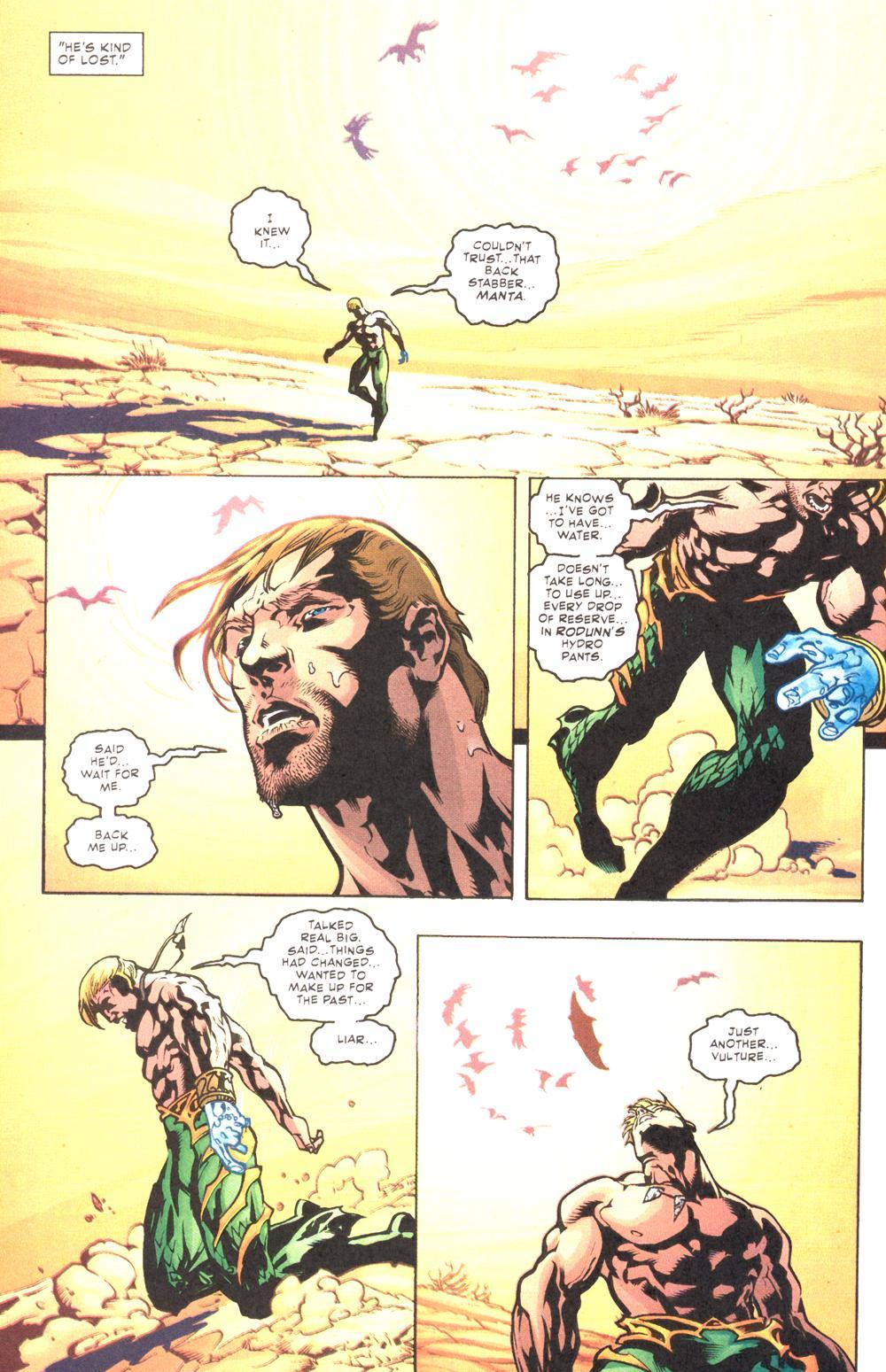 Read online Aquaman (2003) comic -  Issue #10 - 23