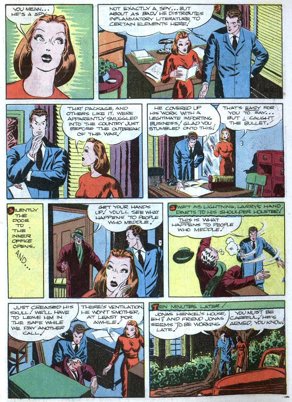 Read online Detective Comics (1937) comic -  Issue #43 - 47