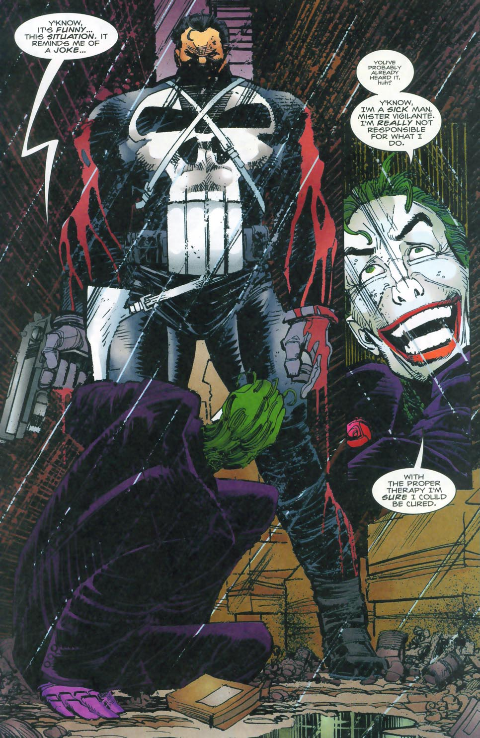 Read online Punisher/Batman: Deadly Knights comic -  Issue # Full - 41