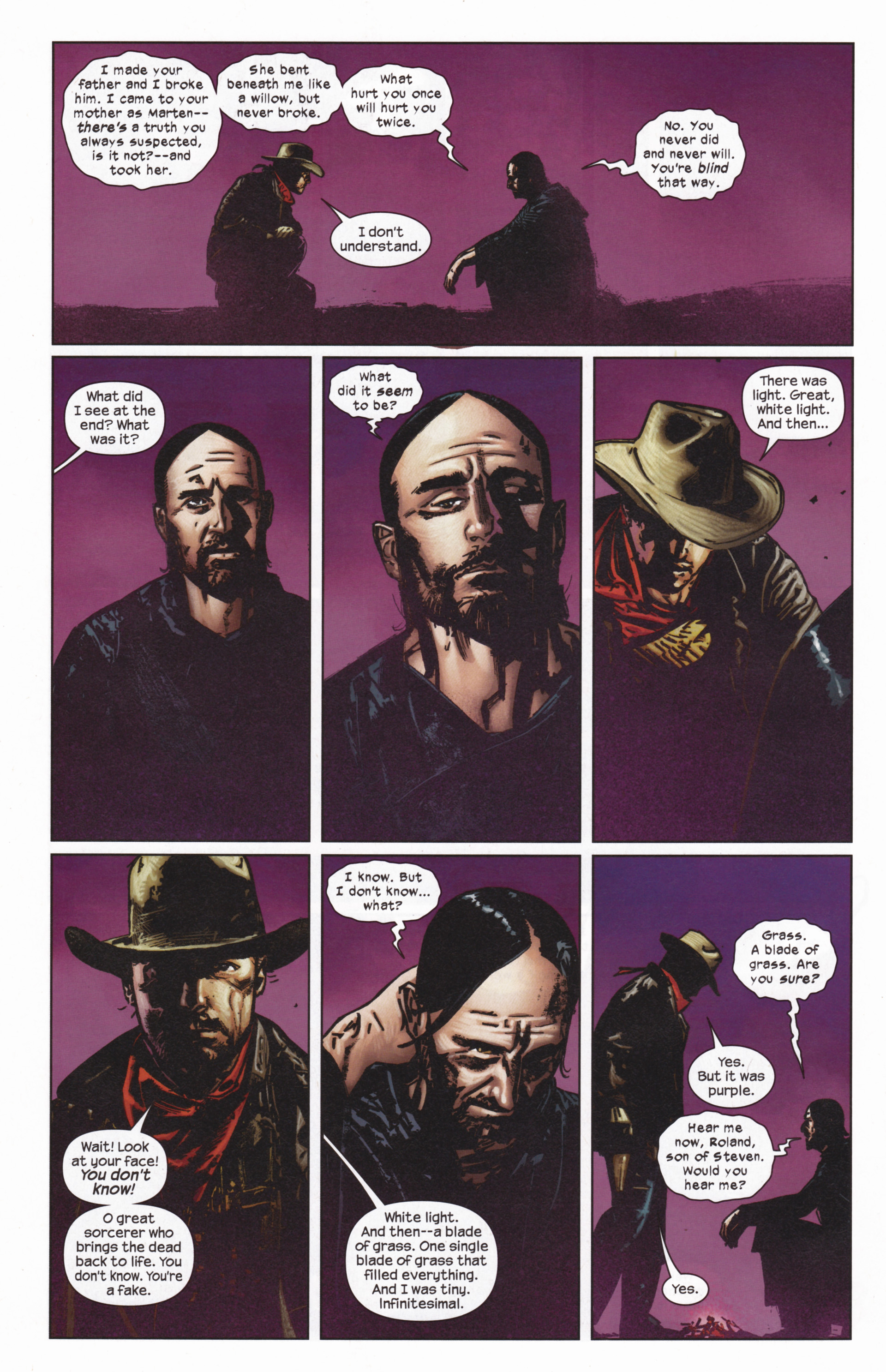 Read online Dark Tower: The Gunslinger - The Man in Black comic -  Issue #5 - 17