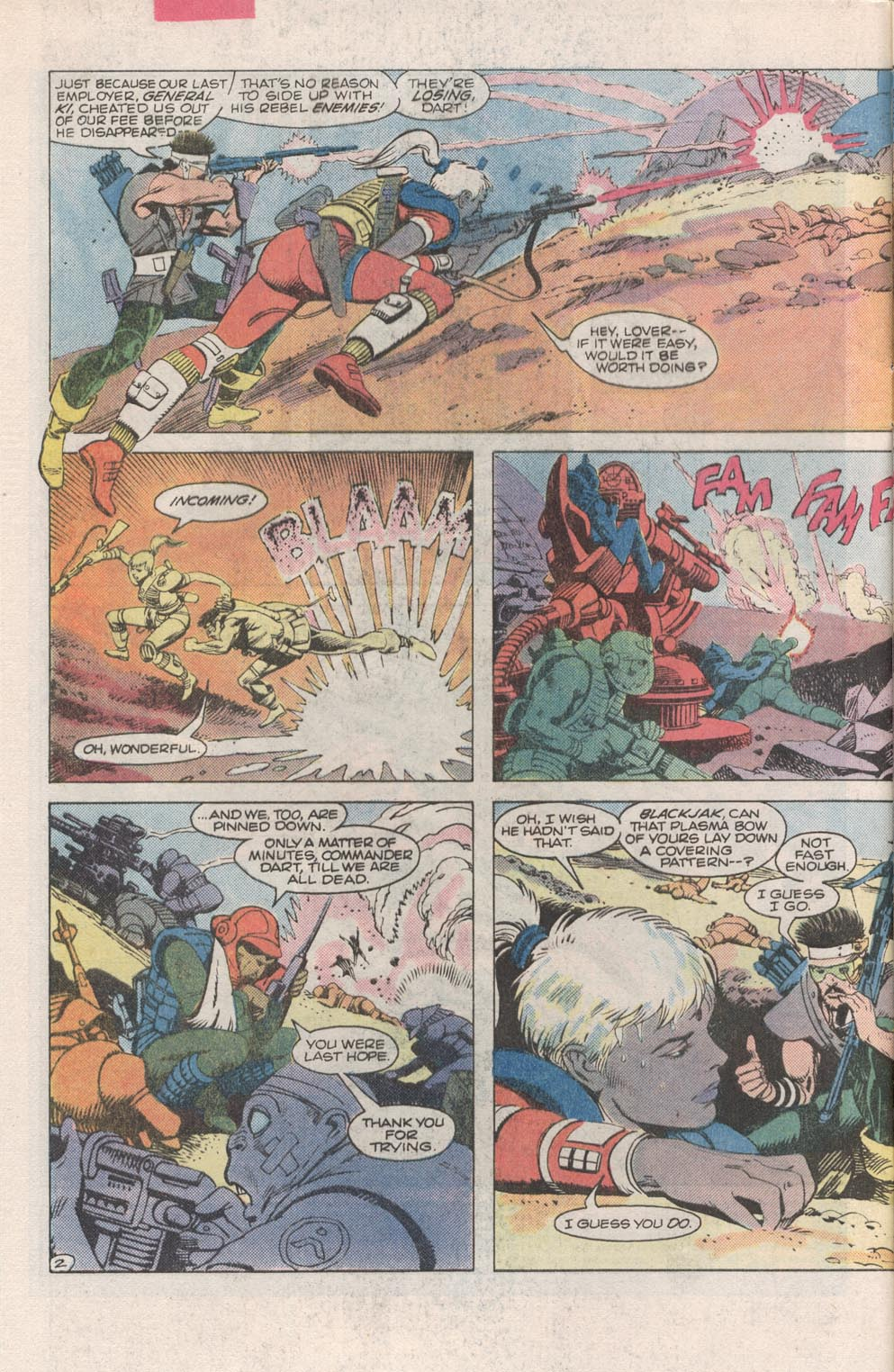 Read online Atari Force (1984) comic -  Issue #2 - 3