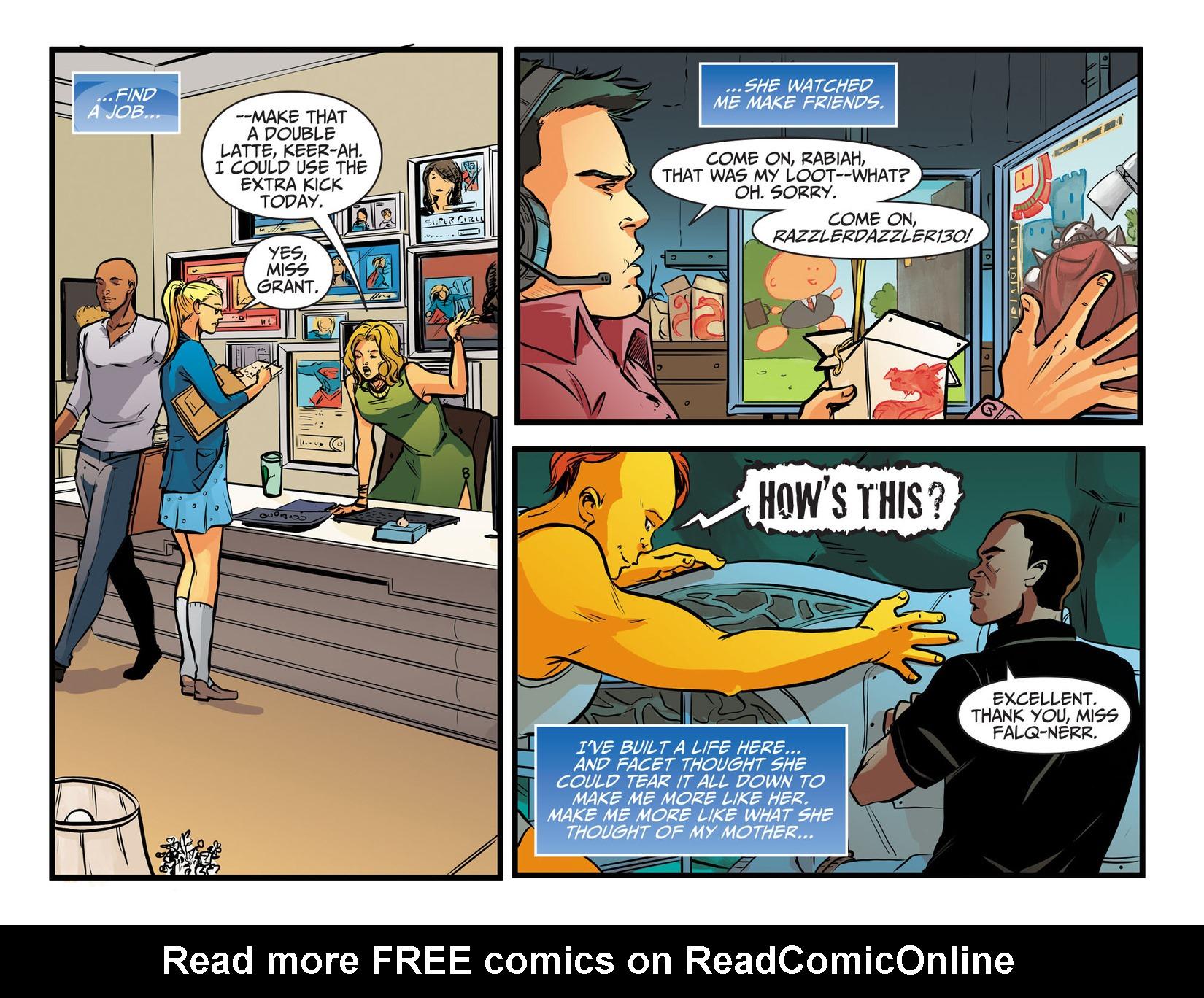 Read online Adventures of Supergirl comic -  Issue #13 - 19