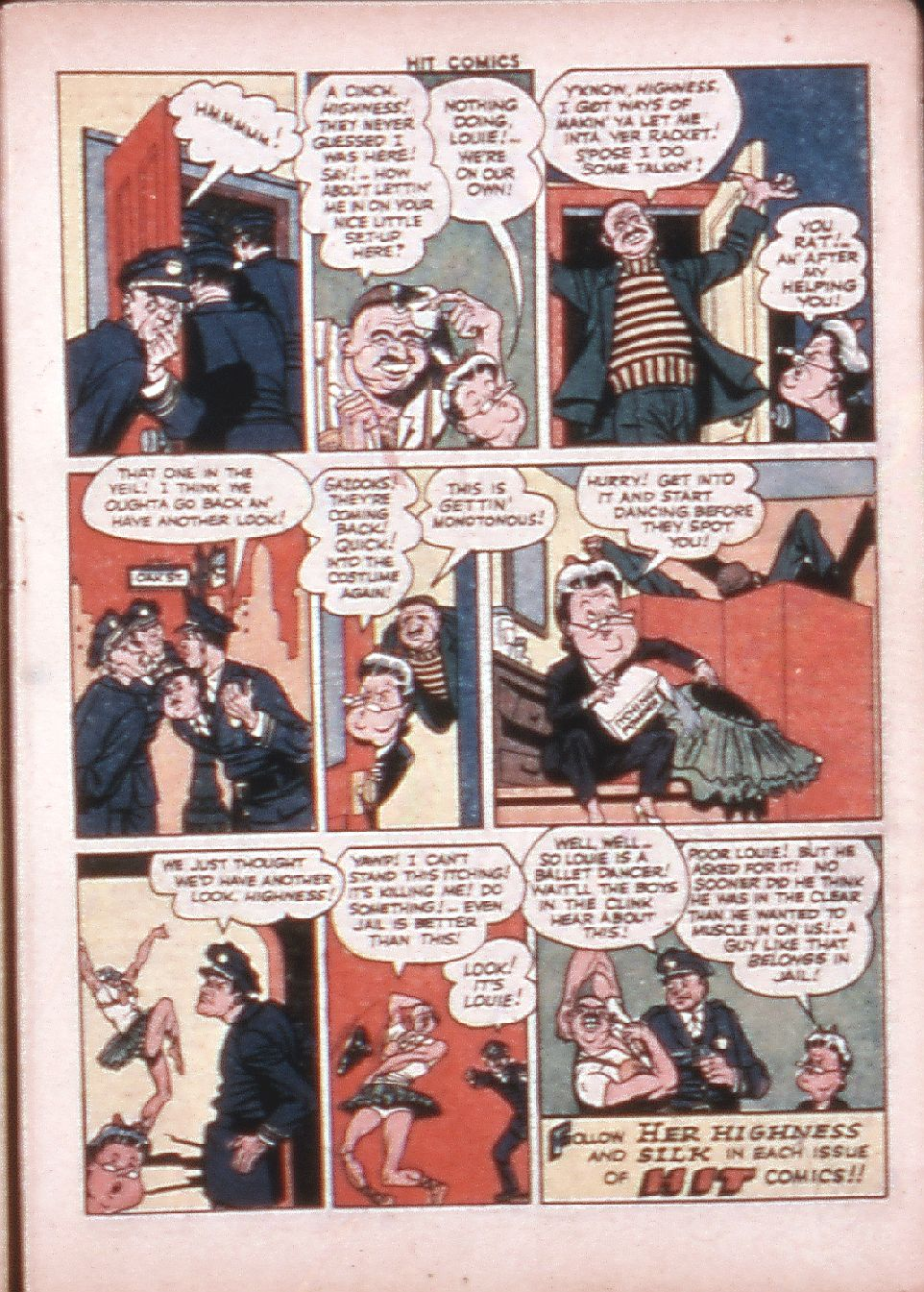 Read online Hit Comics comic -  Issue #33 - 22