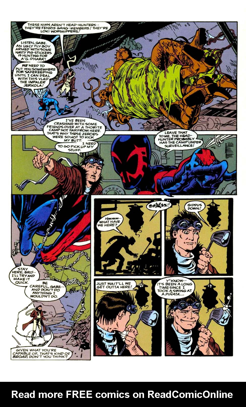 Read online 2099 Unlimited comic -  Issue #9 - 15