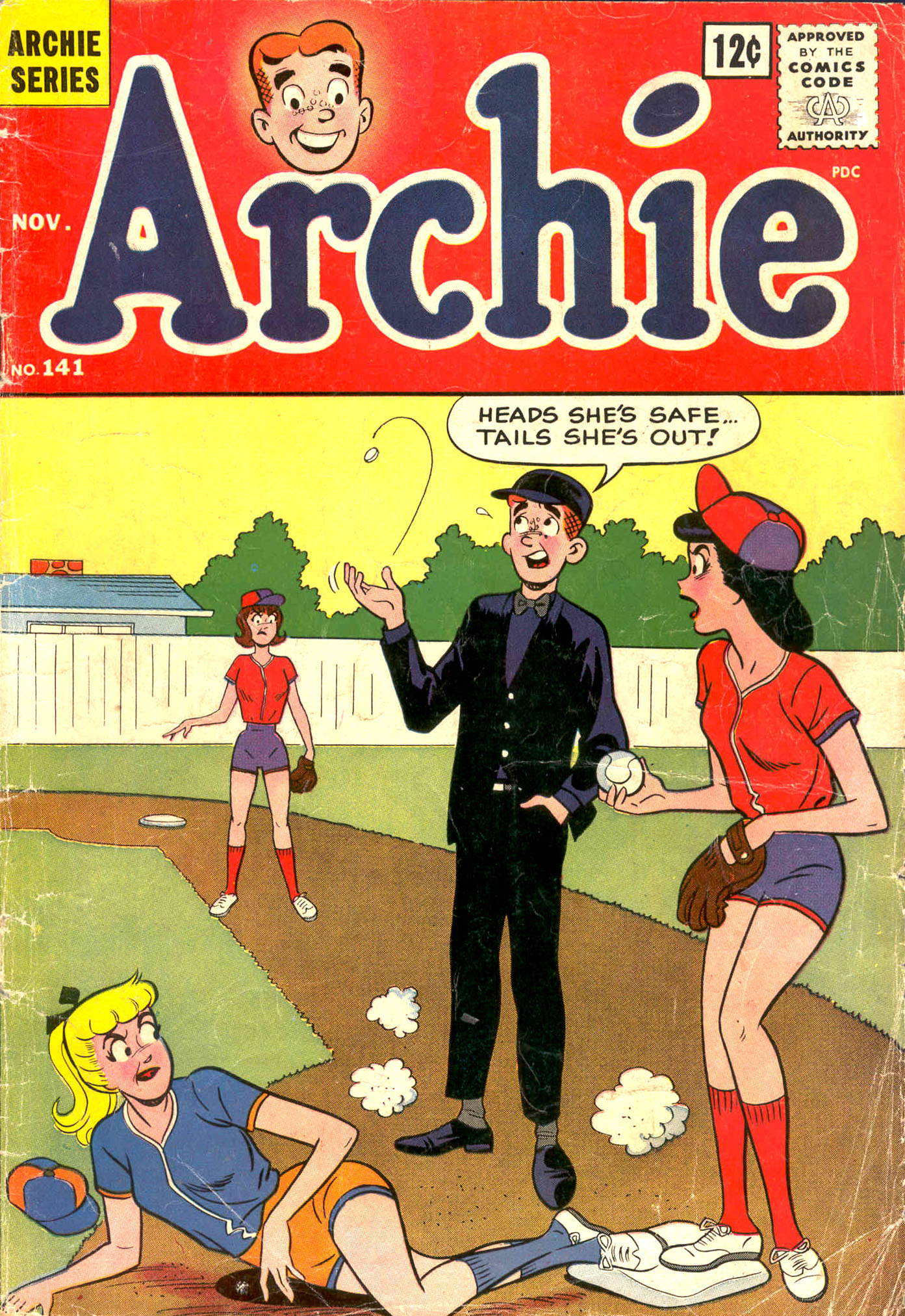 Read online Archie (1960) comic -  Issue #141 - 1