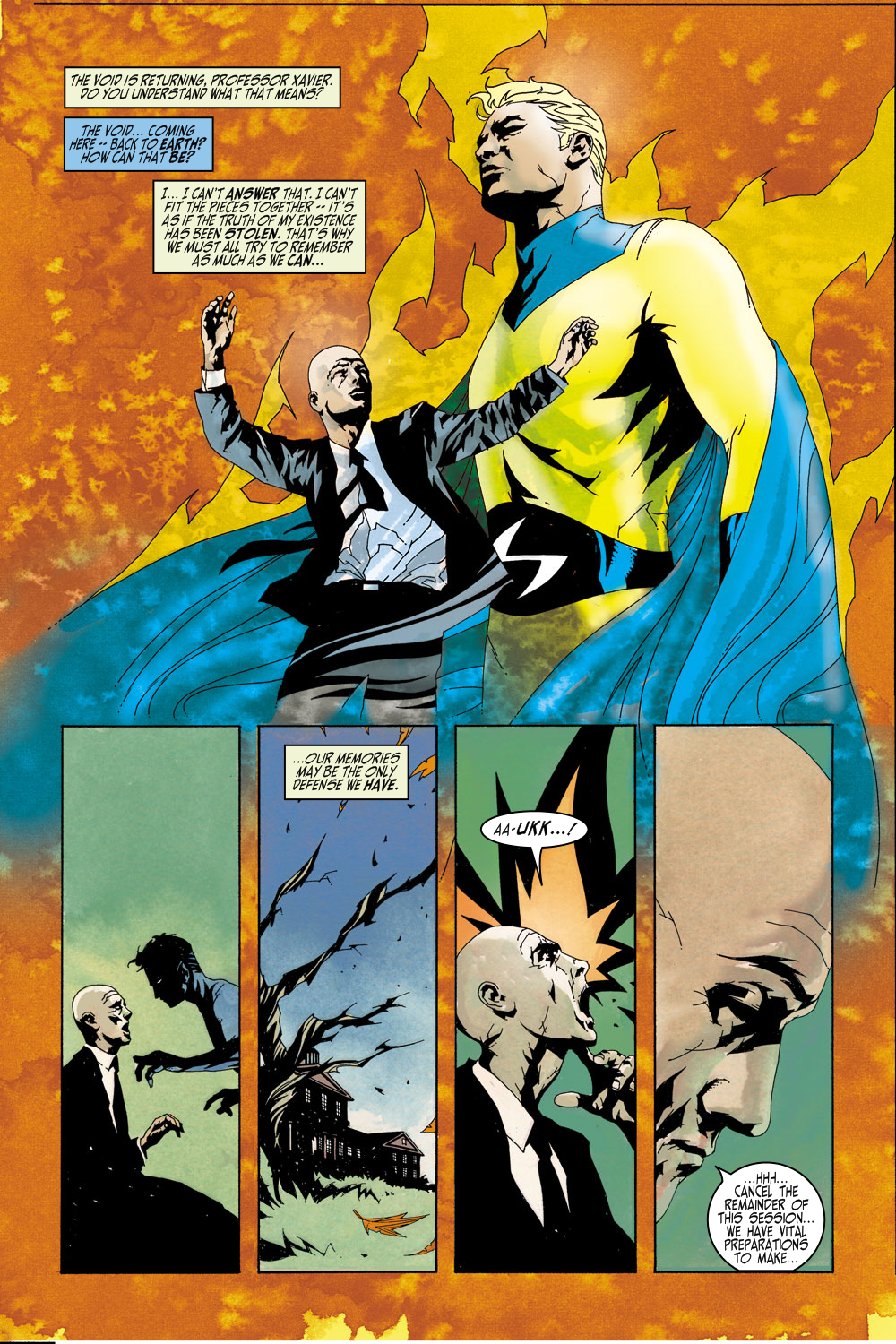 Read online Sentry (2000) comic -  Issue #4 - 8