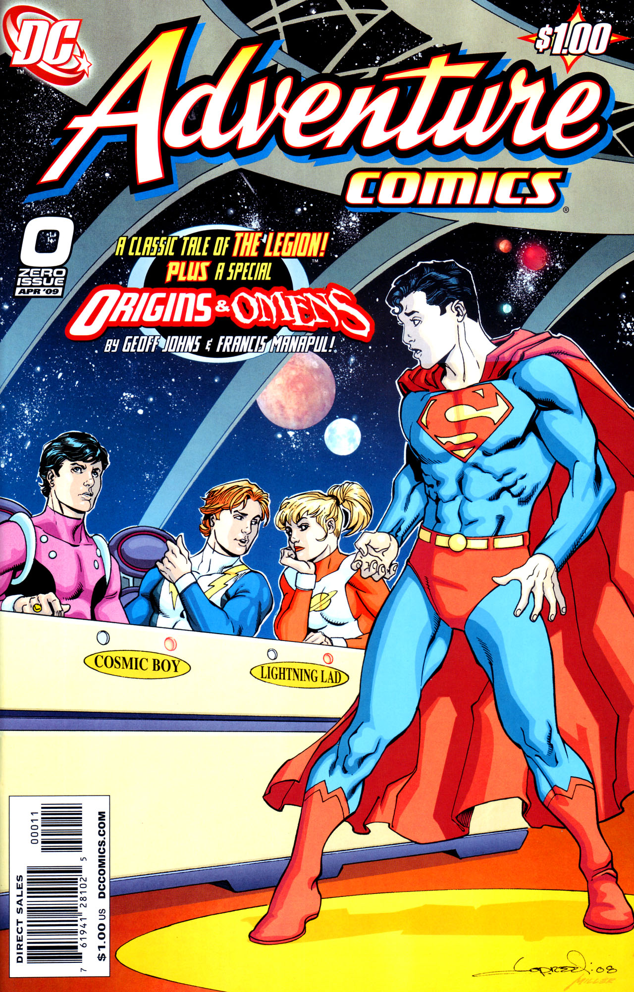 Read online Adventure Comics (2009) comic -  Issue #0 - 1