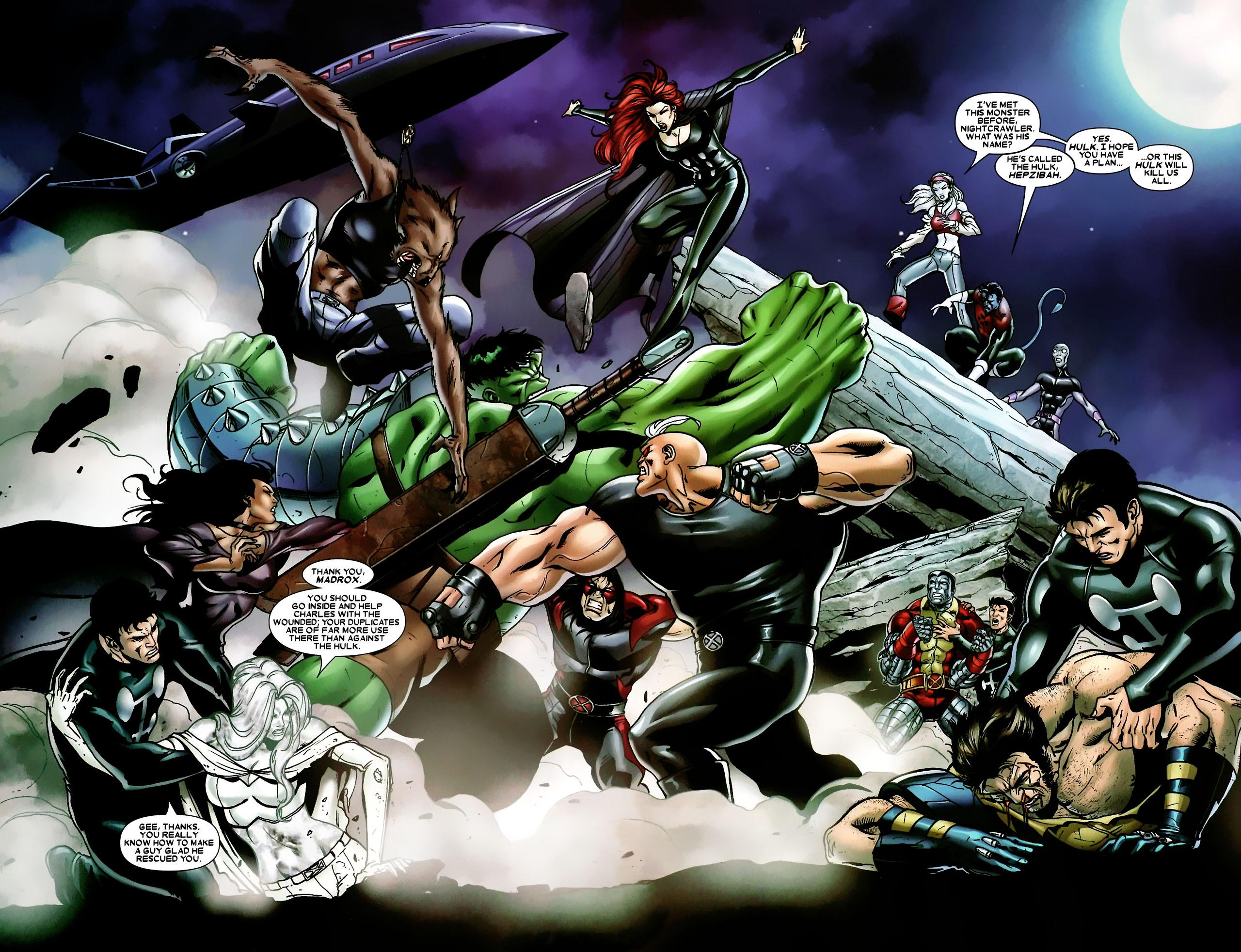 Read online World War Hulk: X-Men comic -  Issue #3 - 3