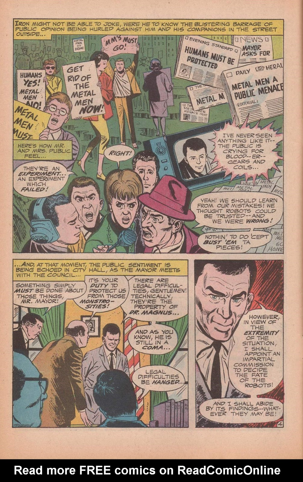 Metal Men (1963) issue 37 - Page 6