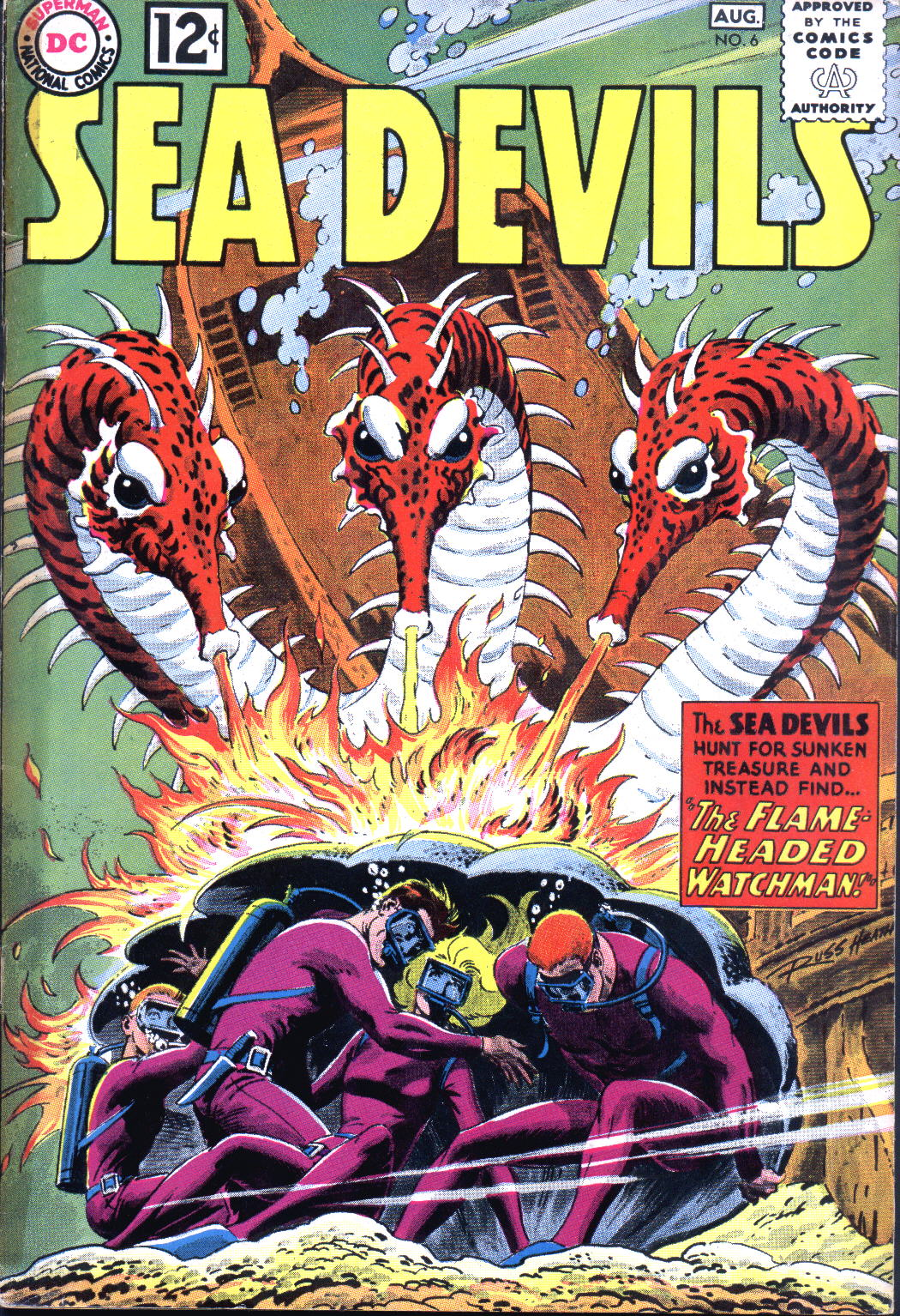 Read online Sea Devils comic -  Issue #6 - 2