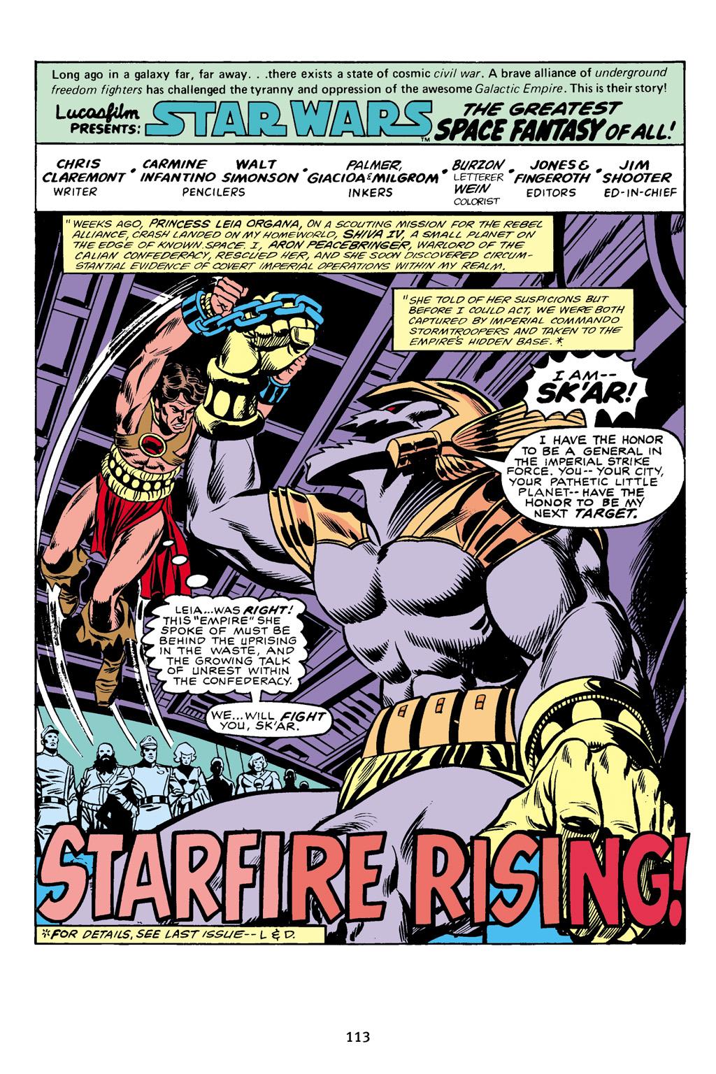 Read online Star Wars Omnibus comic -  Issue # Vol. 16 - 112