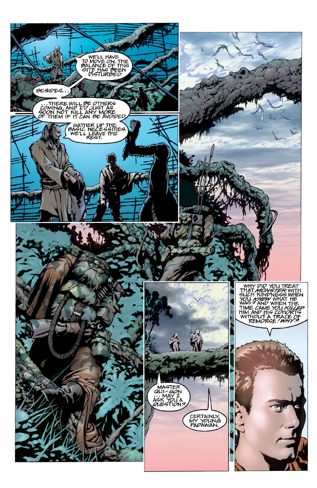 Read online Star Wars Legends: Rise of the Sith - Epic Collection comic -  Issue # TPB 1 (Part 3) - 17