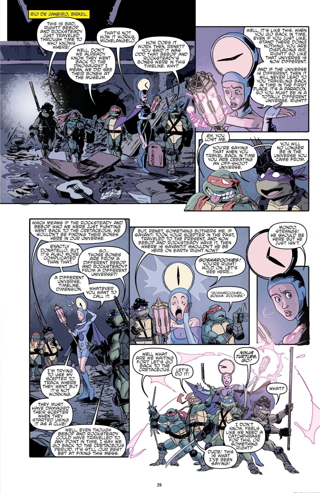 Read online Teenage Mutant Ninja Turtles: The IDW Collection comic -  Issue # TPB 8 (Part 1) - 29
