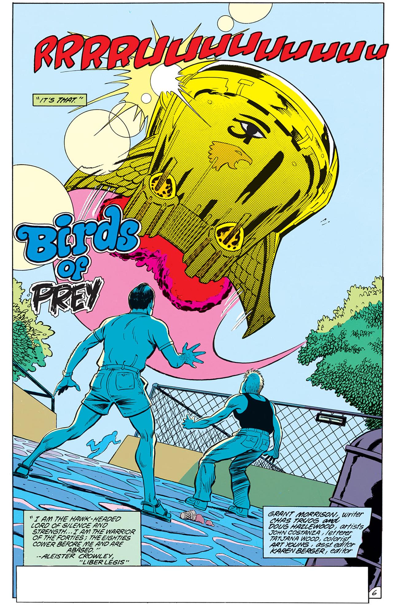 Read online Animal Man (1988) comic -  Issue #6 - 8