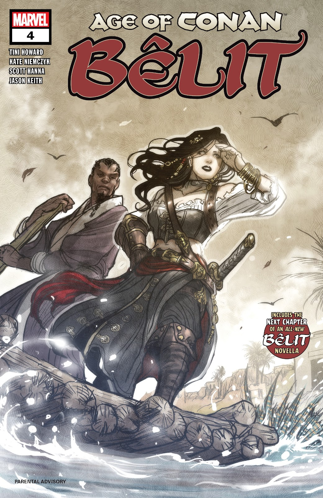 Age of Conan: Belit, Queen of the Black Coast issue 4 - Page 1