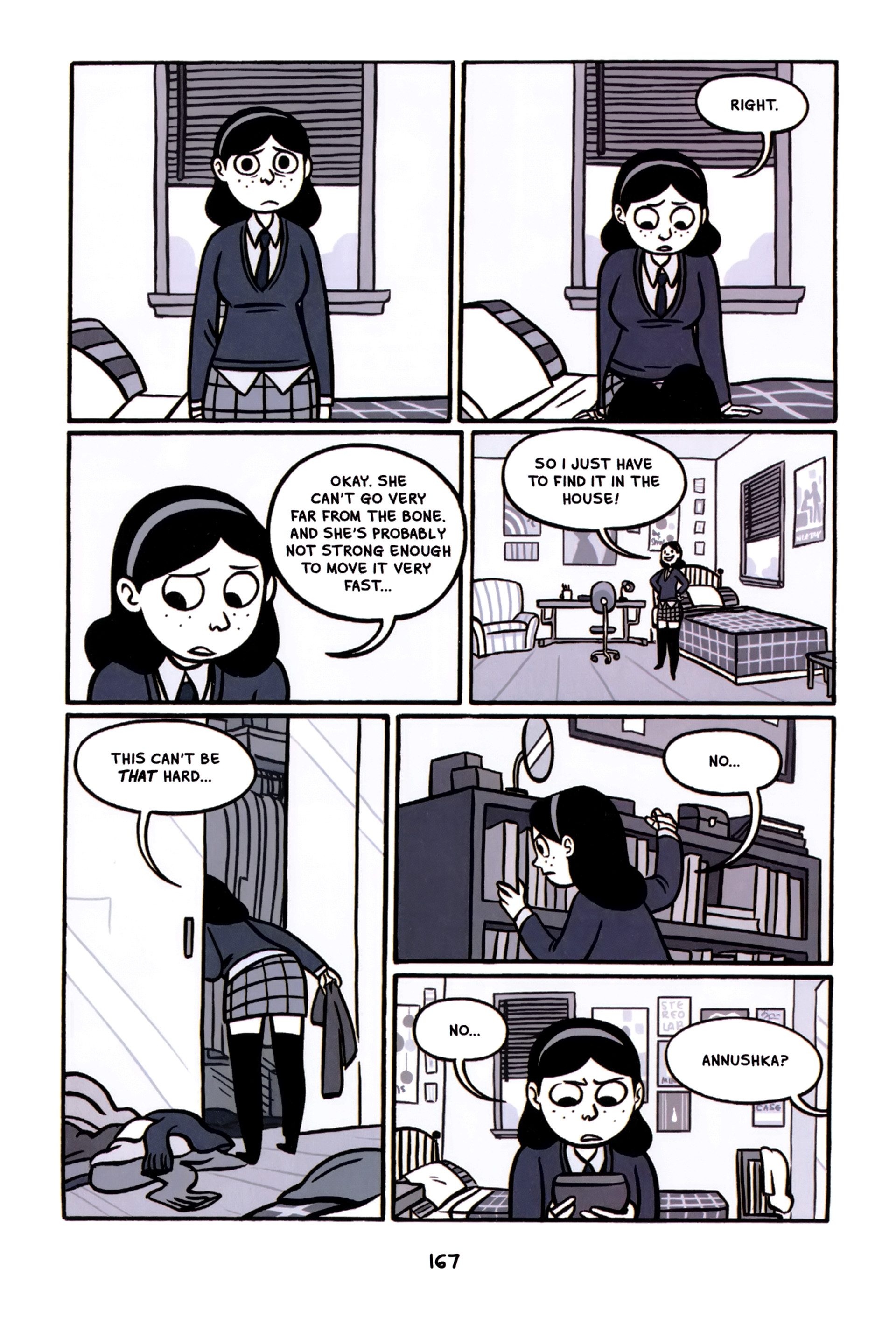 Read online Anya's Ghost comic -  Issue #1 - 168