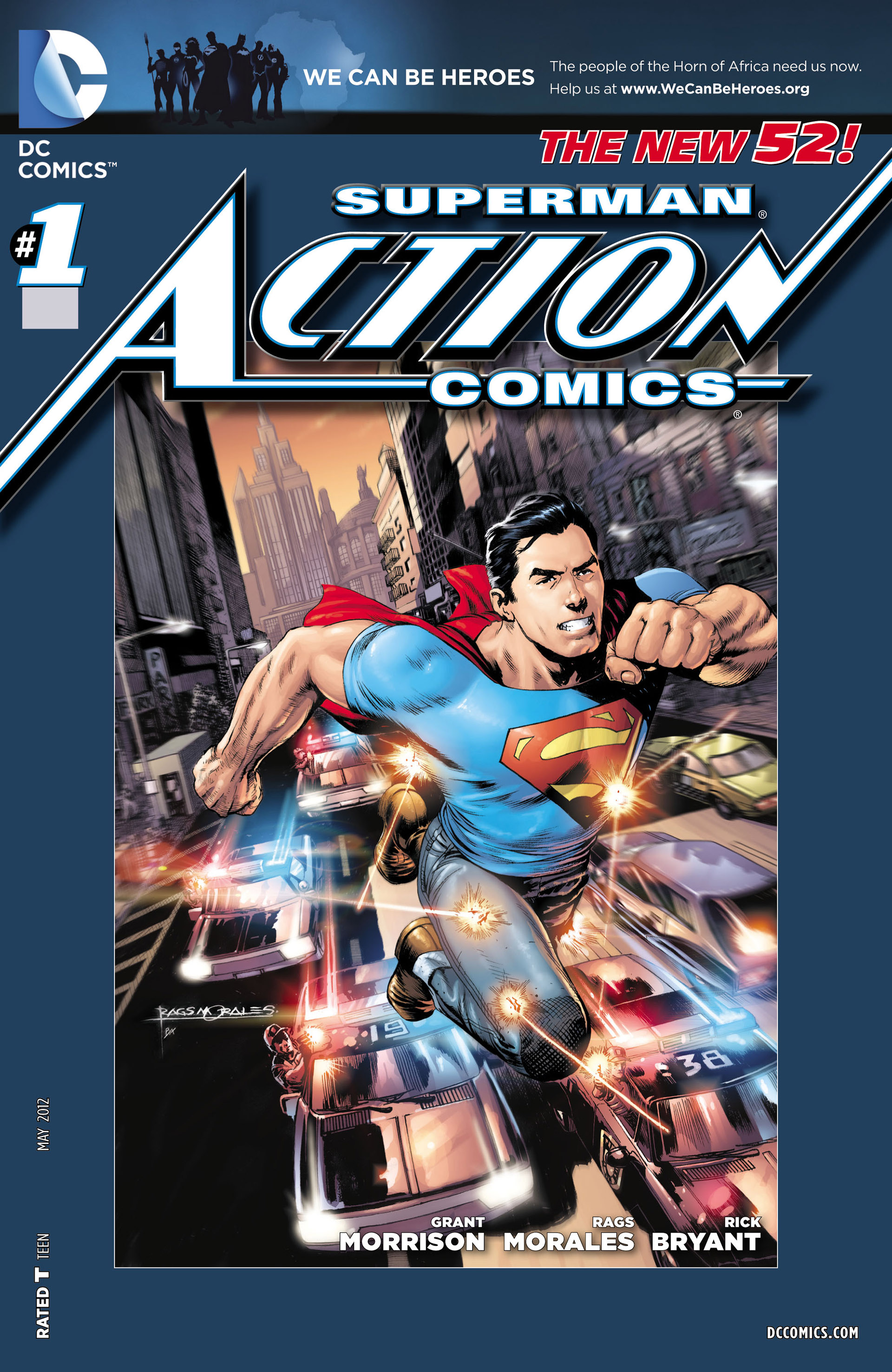 Read online Action Comics (2011) comic -  Issue #1 - 7