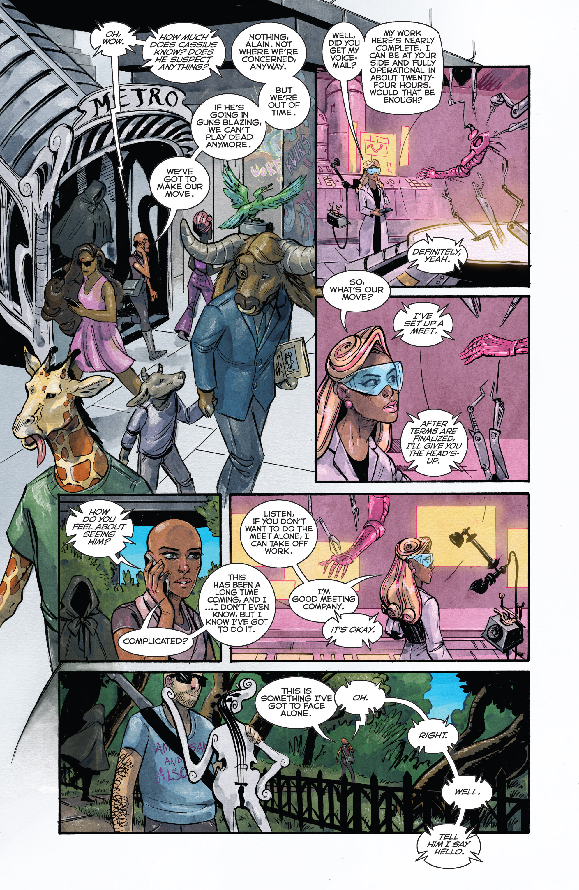 Read online Shutter comic -  Issue #23 - 12