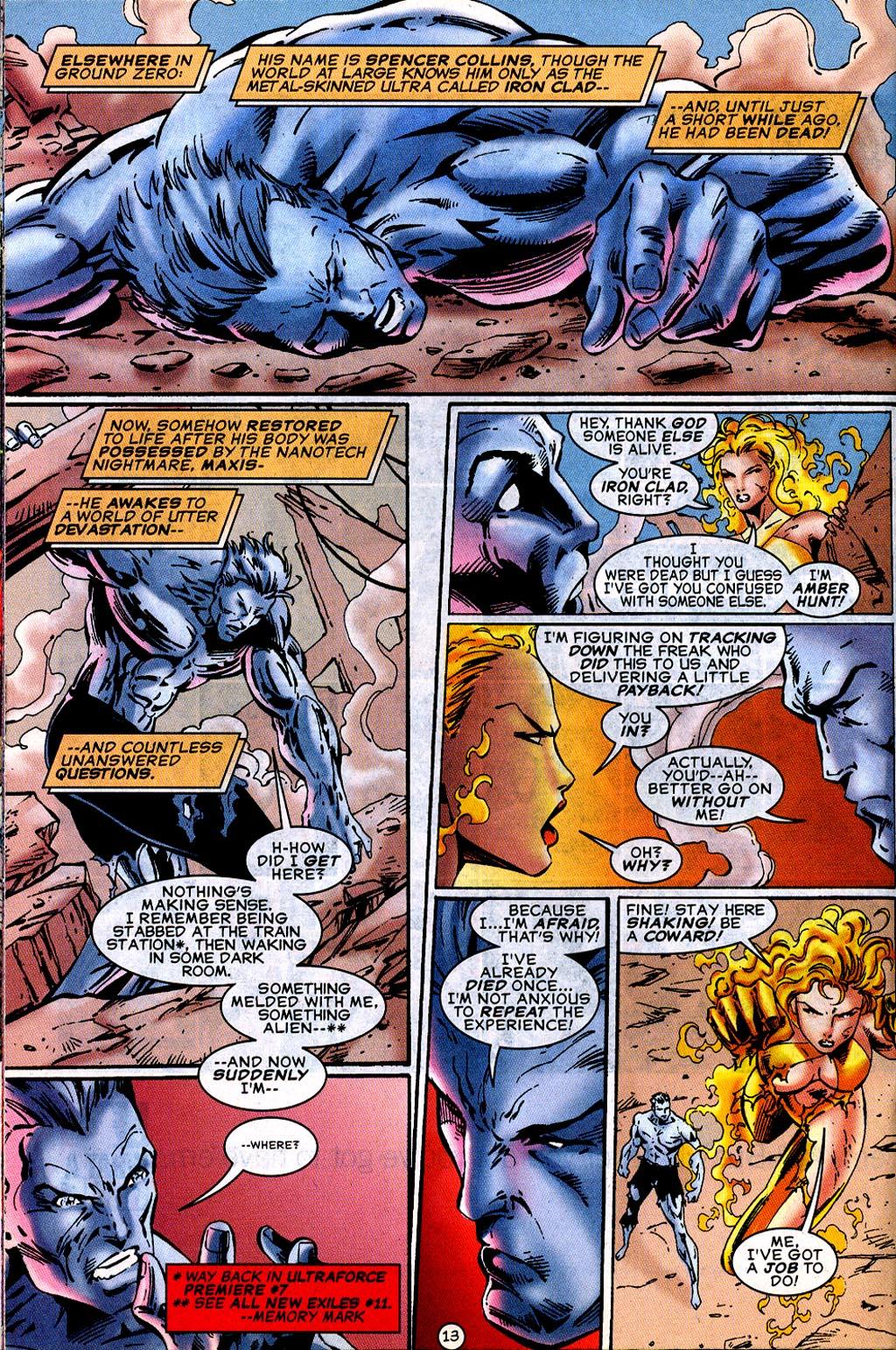 Read online UltraForce (1995) comic -  Issue #12 - 15