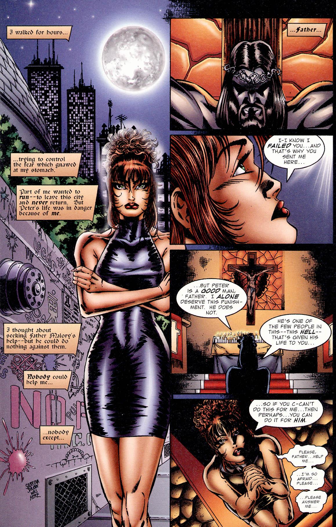 Read online Avengelyne (1995) comic -  Issue #2 - 16